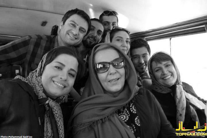 مهراوه شریفی نیا در سریال خداحافظ بچه