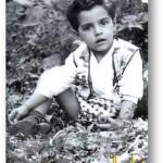 عکسی جالب از کودکی فرامرز اصلانی