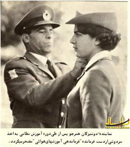 عکس ها (تصاویر) جالب و دیدنی از دختران ارتشی در زمان رژیم شاهنشاهی