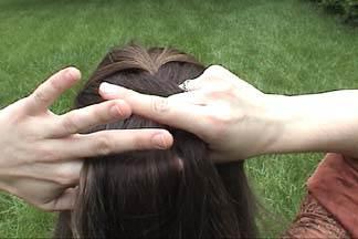 10 آموزش بافت مو به سبک فرانسوی