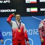 اولین مدال در المپیک 2012 ایران