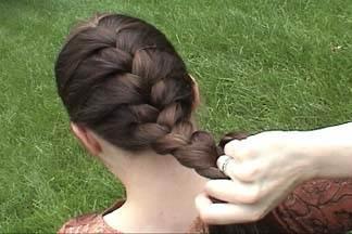 131 آموزش بافت مو به سبک فرانسوی