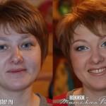 قبل و بعد از آرایش خانم ها+تصاویر جالب