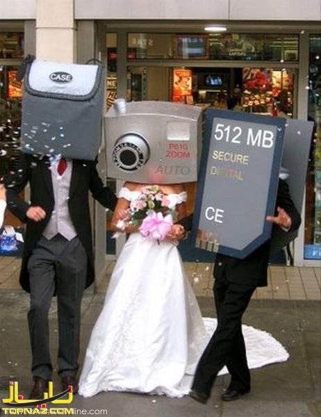 عروسی جالب