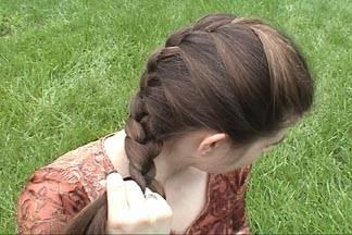 141 آموزش بافت مو به سبک فرانسوی