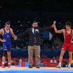 حمید سوریان اولین مدال طلای ایرانیان در المپیک را گرفت
