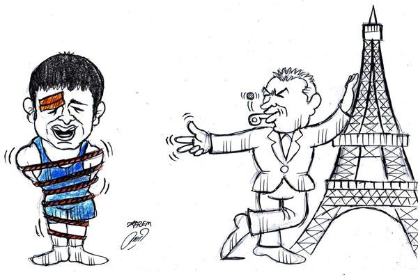 کاریکاتور عبدولی