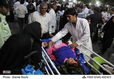 مصدومان زلزله آذربایجان