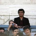 بازیگری معروف در استادیوم آزادی+عکس