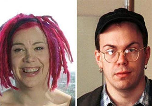 لری واچوفسکی قبل و بعد از تغییر جنسیت