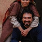 بهاره ارجمند و برادرش برزو ارجمند +عکس