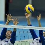 تصاویری از تمرینات تیم والیبال زنان
