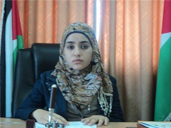 دختر فلسطینی