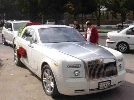 ماشین عروس جالب