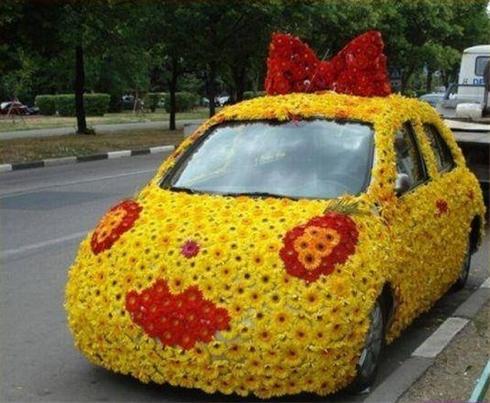 آموزش تزیین عیدی عروس ماشین های عروس دیدنی در تهران