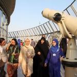 عکس همسران شرکت کننده در اجلاس تهران