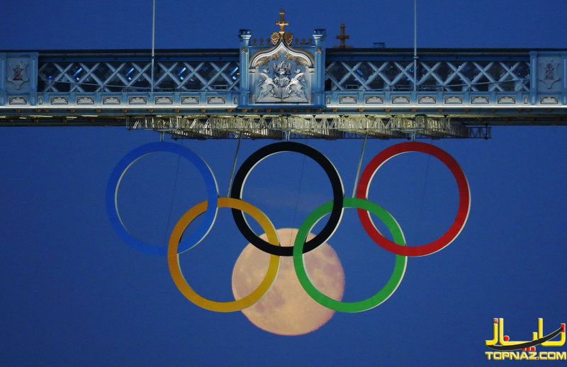 ماه در لوگوی المپیک