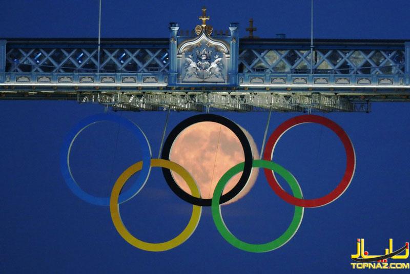 ماه در لوگوی المپیک لندن