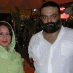 عکسی از علیرضا عصار و همسرش
