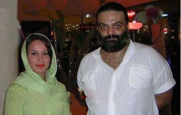 علیرضا عصار و همسرش