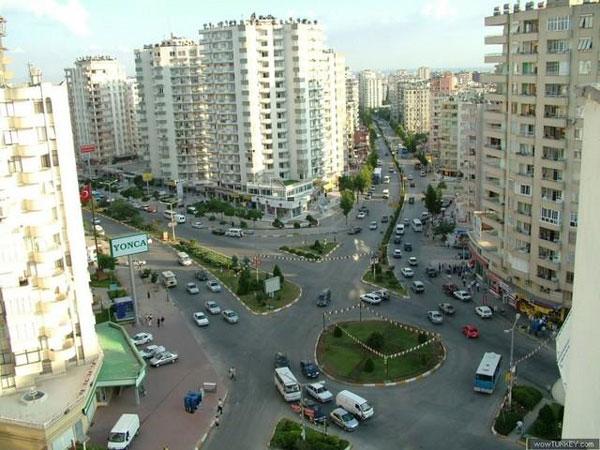 شهر آدانا در ترکیه