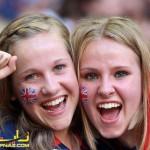 تماشاچیان زن المپیک 2012+تصاویر