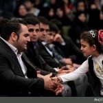 دست دادن دختر ایرانی با بهداد سلیمی+عکس