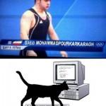تمسخر ورزشکار ایران توسط یک سایت خارجی