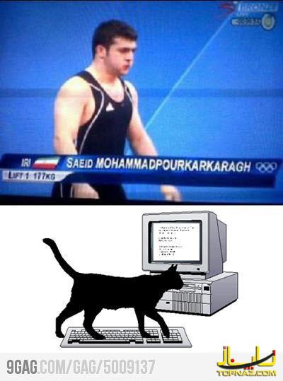 تمسخر ورزشکار ایرانی