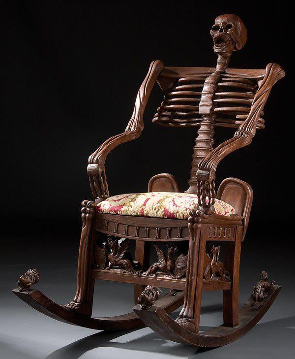 صندلی وحشتناک