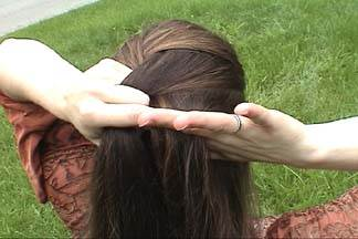 8 آموزش بافت مو به سبک فرانسوی