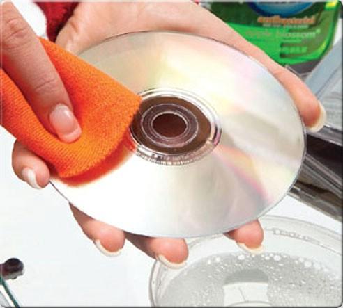 تمیز کردن دی وی دی