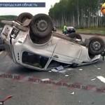 حرکت زشت و زننده زن بعد از تصادف+عکس