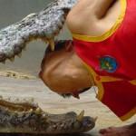 مزرعه پرورش تمساح در تایلند+عکس