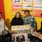 حضور همسر ناصر حجازی در مناطق زلزله زده+عکس
