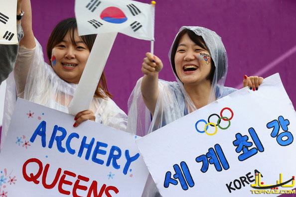 تماشاگران المپیک