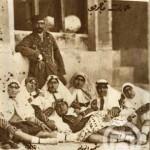 عکسی جالب از ناصرالدین شاه و زنانش
