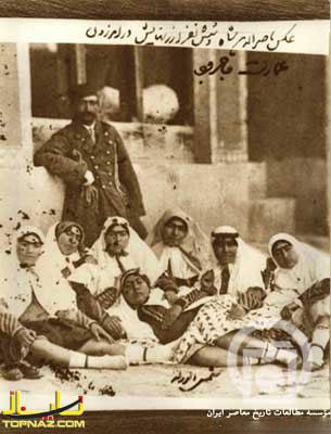 ناصرالدین شاه و زنانش