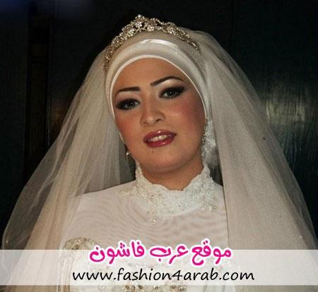مدل آرایش عروس محجبه