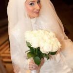 مدل آرایش عروس های محجبه