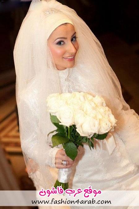 مدل آرایش عروس سبک عربی