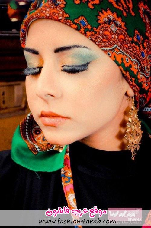مدل جدید آرایش خلیجی و عربی