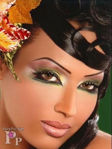 مدل آرایش سبک گوگوش قدیمی مدل آرایش چشم و ابرو پاییز 2012