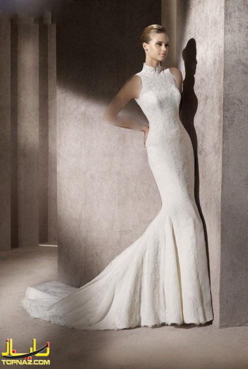 مدل لباس عروس 2012