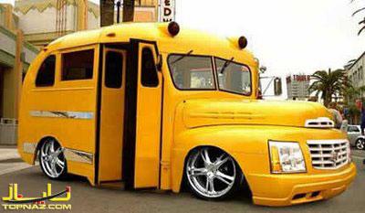 اتوبوس جالب