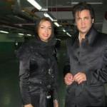 حسام نواب صفوی و همسرش در برج میلاد+عکس