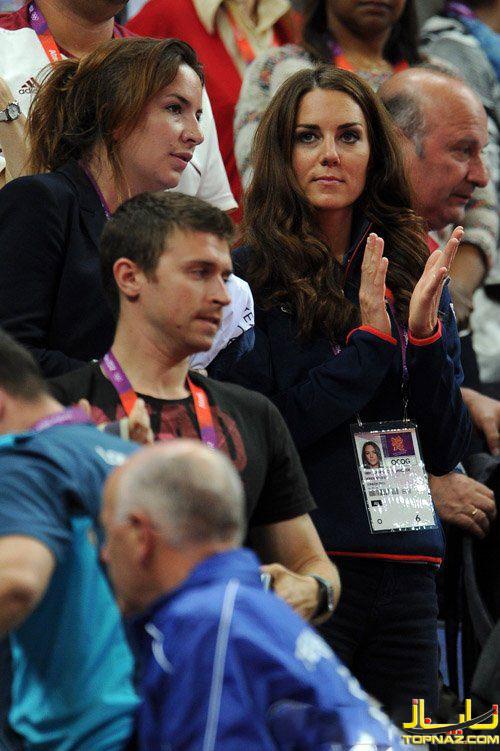 کیت میدلتون در المپیک