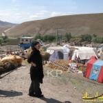عکسهای لیلا بلوکات در مناطق زلزله زده آذربایجان