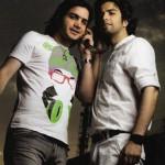 محسن یگانه و بنیامین در کنار هم+تصاویر