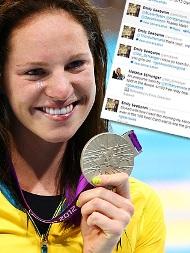 دختر شناگر المپیک